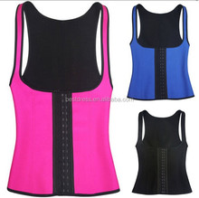 walson wholesale instyles women body shaper vest latex underwear women latex rubber