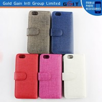 [GGIT] 2015 Hotsale New Design Flip Leather Case for iPhone 6 Flip Cover