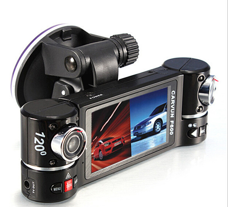 2 7 pouce lcd cran voiture enregistreur bo te noire de voiture cam ra 360 degr s lentille. Black Bedroom Furniture Sets. Home Design Ideas