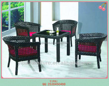 rattan coffee table and chairs for outdoor furniture