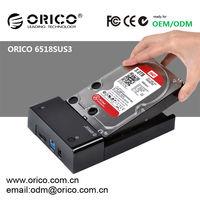 ORICO 6518SUS3 Newest 2.5''/3.5'' SATA HDD Docking Station Driver usb3.0 &e-sata