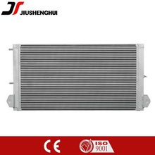 Alluminio radiatore dell'olio idraulico degli escavatori