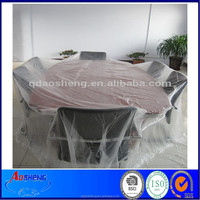 Hotel/Home Clear Plastic Disposable PE Tablecloth