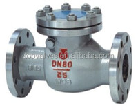 ASTM/ JIS/DIN Standard H44 Type Swing Check Valve DN15-300 from manufacturer