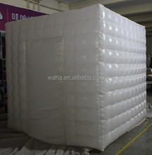 Event/Party decoration white inflatable photo booth