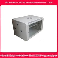 network cabinet with luxury 6U 450mm 19 wall mount network cabinet