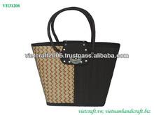 Fashion bamboo bag with lock