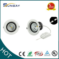harga lampu down light aluminum cob led downlight 15w 20w 30w 40w cob down light
