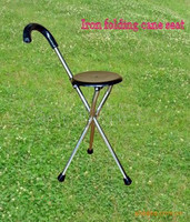Portable Walking Chair (Cane / Stool)