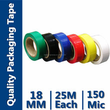 PVC TAPE USED FOR AGRICULTURE (Soft polyvinyl Choride(SPVC) And Rubber Adhesive)