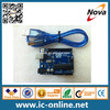 new products integrated circuit electronic circuit boards ArduinoS UNO R3 ATMEGA328P with USB cable