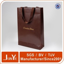 foil shopping paper extra large fancy gift bag with logo