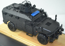 Custom made mold metal military die cast model armored car 1 43 for collection