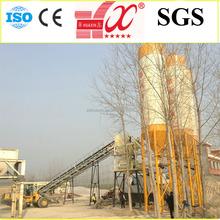 HZS60 self loading concrete mixing plant 60m3/h