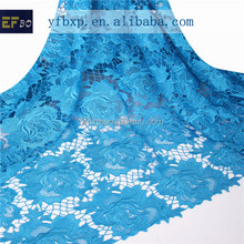 Beautiful top quality austrian embroidery designs flower fancy lace design/ designer bridal saree border lace