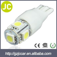 2014 New green dashboard light t10 4smd auto led width