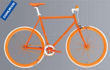 2015 hot sale 700C hi-ten steel single speed bicycle from Hangzhou factory