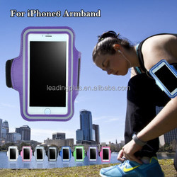 Anti Sweat Neoprene Running Reflective Armband Case for iPhone 6