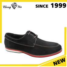 China wholesale alibaba top sale modern design cow suede leather casual shoes for men made in china