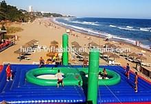Cancha de voleibol playa inflable Comercial en venta
