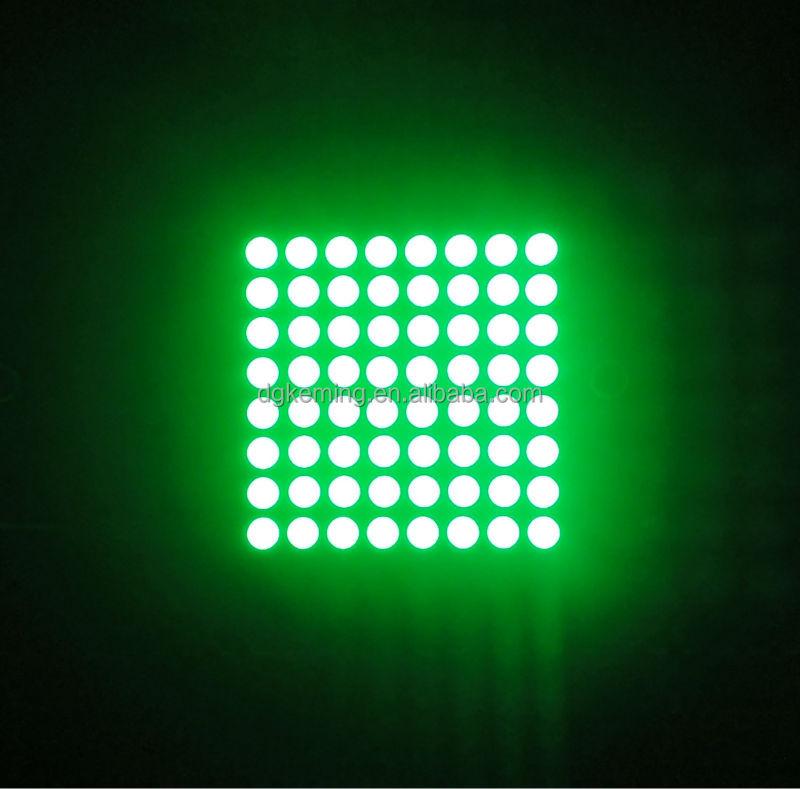 8x8 matrix led module rgb square dot led for lift indicator
