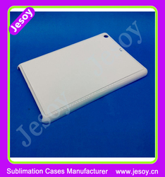JESOY Plastic White 2D Sublimation Blank Case For ipad air 2 Case Cover