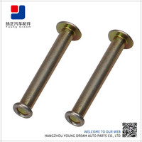 New Product Stainless Steel Customized Chrome Rivets For Leather