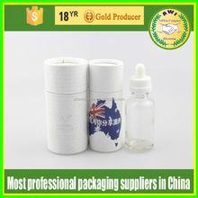 kraft cardboard paper tube for water color pen round cardboard paper tubes cardboard tube with label