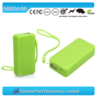 Rush Price portable mobile ultrathin power bank 5600mAh