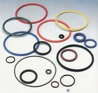 different sizes colored Fluoro silicone O Rings