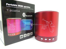 Factory price Active Mini portable Bluetooth Speaker, T-2020A wireless speaker best sellers