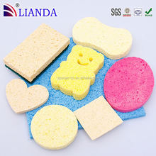 cellulose sponge with pad,best selling kitchen sponge,cellulose sponge for dish washing