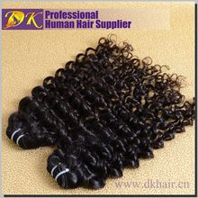 DK best selling popular style wholasale cheap 100% virgin brazilian curl hair, brazilian hair by seashine export and import