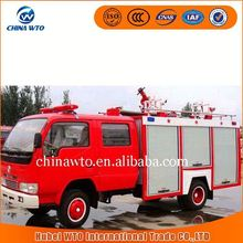 Donfgeng 4 ton mini fire truck for sale, led light bar fire truck