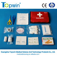 CE approved wholesale Emergency Portable Medical First Aid Kit ,Bag