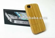 2012 new design case for iphone 4 with high quality bamboo