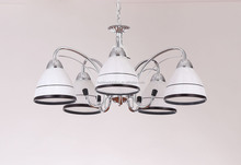 indoor pendant lights white/black european iron ceiling lamp modern