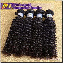 Best selling cheap wholesale top quality real tangle shedding free brazilian bohemian curl afro kinky human Hair Weave