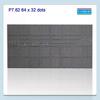 High Brihtness Indoor P7.62 Tricolor Dot Matrix 64x32dots LED Module