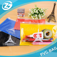 School Supplies Boy's Girls Children Kid Favor Party Gift Bag PVC Cartoon Charactor Pencil Case Pen Pouch Stationery Zipper Bag