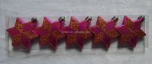 decorative plastic stars Christmas tree decoration