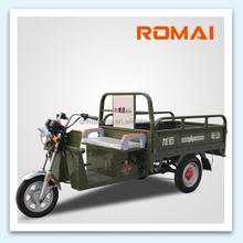 Romai 48V 1000W 3 wheel motorcycle/ cargo trike with 48 volt dynamo