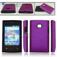 2014 new promotional product novelty design PC silicone combo case for LG E400 Optimus L3