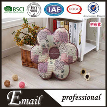 Flower shaped cotton Patchwork inflatable donut seat cushions