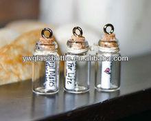 Glass empty sprayer perfume bottle for Christmas gift