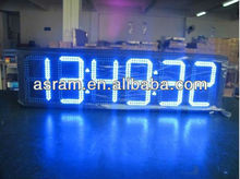 "aliexpress Shenzhen Asram LED 8inch 12"" 6 Digits Large Display LED Countdown Timer"