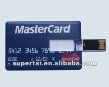 wholesale promotional promotional usb credit card flash drive 1gb 2gb 4gb 8gb,custom logo is optional