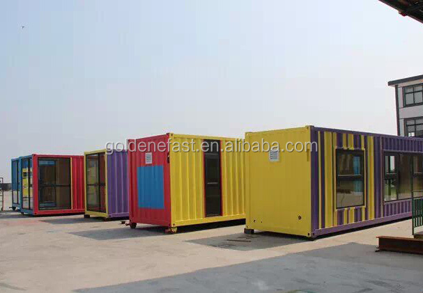 20ft Container Frame Coffee Container Shop - Buy Coffee Container ...