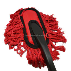 household cleaning cotton brush cotton cleaning duster brush cotton duster with handle