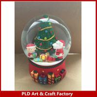 The Simpsons kid and Dog snow globe/Simpsons christmas tree snow globe